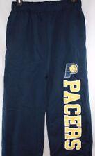 Boys Girls Kids Youth Majestic Indiana Pacers Navy Logo NBA Sweat Pants