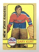 1972-73 Gary Kurt New York Raiders 306 OPC O-Pee-Chee Hockey Card WHA S522