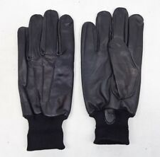 Genuine Butts Ex Police Leather Driver Patrol Lined Uniform Black Gloves B6 BG3