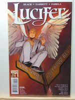 Lucifer #1 Vertigo Comics 2nd Print RARE !!!! 2016 CB8365