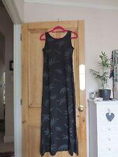 Diesel 55DSL Bamboo Maxi Dress in BLACK size S