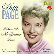Patti Page - There Is No Greater Love:Complete Lang-Worth Trans [New CD] UK - Im