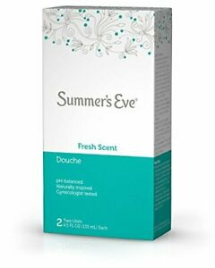 Summers Eve - Douche Fresh Scent, 4.5 oz (Pack of 2) New Product, Dented Box