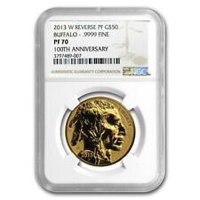 2013-W 1 oz Reverse Proof Gold Buffalo PF-70 NGC - SKU #79122