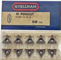10 Piece Indexable Inserts Stellram TCMA16 04 08, S2F P20
