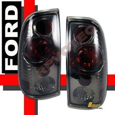 97-03 Ford F150 97-07 F250 F350 Super Duty Pickup Smoke Tail Lights Lamps