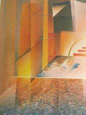 Foeller Peter Germany 1945 Berlin Atlantis 1988 Litho or screen printing? ls268