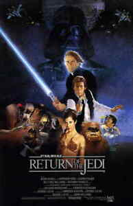 "Return of the Jedi 11""x17"" Movie Poster - Licensed 