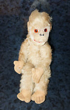 "12"" STEIFF or Hermann MONKEY Antique Vintage Doll Mohair Ape Made in Germany"