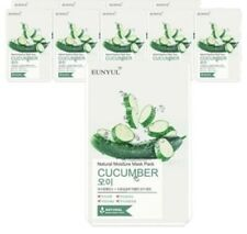 [EUNYUL] CUCUMBER Natural Moisture Face Mask Pack 10 Sheets Korean
