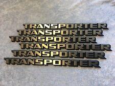 """Original Schriftzug Emblem Zeichen """"Transporter"""" VW T3 Neu 251853689D Bus NEU!"""