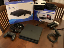 Sony PlayStation 4 1TB Console with VR And Motion Controllers Included!