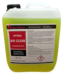 Optimal Bio Clean Bioclean 5 Liter PREMIUM Konzentrat!
