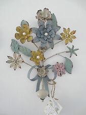 Florentiner Wandhaken* Kleider -Blumenhaken Pastell *Blüten * Shabby* Vintange*