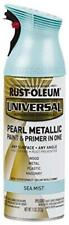 Rust-Oleum AC1213 301551 Universal All Surface Spray Paint 11 oz, Metallic Green