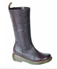 Doc Martens rich brown Charla taller side zip boot size UK8 US10 ladies US 9 men