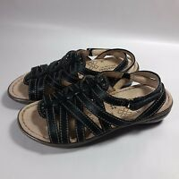 Women's Naturalizer N5 Comfort Jamboree-Side Strap Shoes Sandals-4.5 M