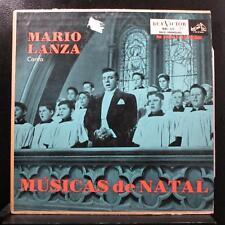 Mario Lanza - Mario Lanza Canta Musicas De Natal LP VG BRL 171 Mono Brazil