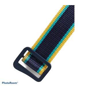 Vineyard Vines Men's Striped On-The -Go Performance Belt.Sz.XL.MSRP.$68.00.NWT