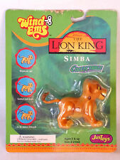 Disney's The Lion King Simba Toy Collectable Wind Ems Toy Mattel Vintage Nos