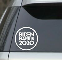 "Biden Harris 2020 Joe Kamala White 8"" Vinyl Decal Sticker car, yeti, bumper"