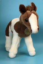 New Aurora World Miyoni Tots Pinto Foal Standing Horse - Plush Toy - So Cute!