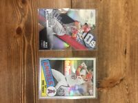 2020 Topps Chrome Mike Trout Refractor Lot 2 Los Angeles Angels! Dye Cut 35th 🔥