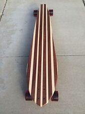 Longboard made of Solid Wood - Kona 48x10 - Mahogany and Maple