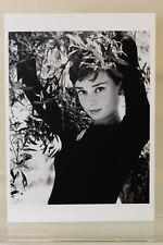Audrey Hepburn, Roma, 1955 by Philippe Halsman, arte-postal