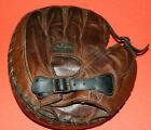 Antique 1920's STALL & DEAN Buckle Back Catchers Mitt / glove vintage baseball