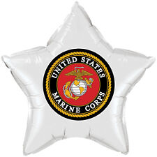 US Marines Party Supplies MARINE CORPS STAR BALLOON