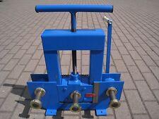 Roll Bender Tube Cintreuse Ring roller Machine à cintrer Super Heavy Duty NEUF