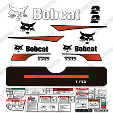 Bobcat T740 Compact Track Loader Decal Kit Skid Steer (Curved Stripes)