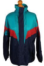 Vintage Festival Raincoat Waterproof Windbreaker Multi Chest: 46 RC099