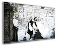 Quadro moderno Banksy vol XIII stampa su tela canvas arredamento moderno poster