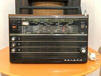 Vintage Soviet Russian USSR Radio SELENA TYPE B211 LW AM FM 5SW WORKINGS