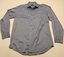 Paul Smith London Mens Sz Large Classic Fit Button Front Long Sleeve Dress Shirt