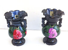 Ceramic vase 2 piece , handmade glazed ceramic home decorations