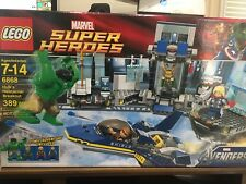 RETIRED! LEGO Super Heroes Marvel Avenger's Hulk's Helicarrier Breakout (6868)