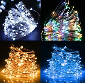 Fairy Lights Battery Operated 2M 20 LED Party String Lights for Bottles Bedroom