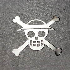 1pc New Anime One Piece Metal Sticker For Phone PSP Laptop Car Toys