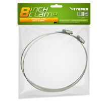 "VIVOSUN 6"" 8"" 10"" 12"" inch Stainless Steel Flexible Duct Hose Clamps for Ducting"