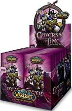WOW WORLD OF WARCRAFT TCG : CAVERNS OF TIME TREASURE PACK BOX NEW SEALED