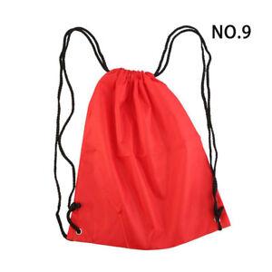 12 Colors Men Women Rope Bags Waterproof Drawstring Backpack Travel Hiking Bag