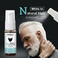 Beard Hair Spray Men Beard Dye Cream Fast Color Natural Black Beard Tint Cream