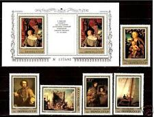 1983 Russia Art Hermitage Famous Germany Paintings PEOPLE SAILS full set s/s MNH