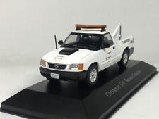 ixo 1:43 Chevrolet S10 Socorro Guinchos Diecast model car
