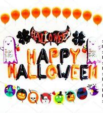 Halloween Luftballons Komplett Party Set Dekorationen Happy