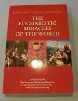 Vatican International Eucharistic Miracles of the World Catholic Book EUCHARIST