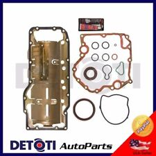 Oil Gasket Set Oil Pan Repair Fix Kit For 1999-2009 Dodge Jeep Chrysler 4.7L V8